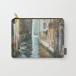 Venice canal painting. Italy Carry-All Pouch
