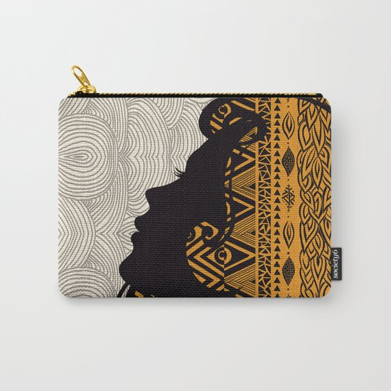 Tribal Dreams by Pom Graphic Design & Viviana Gonzalez Carry-All Pouch