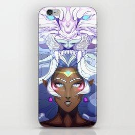 LION GODDESS iPhone Skin