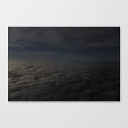 where reality became pointless Canvas Print