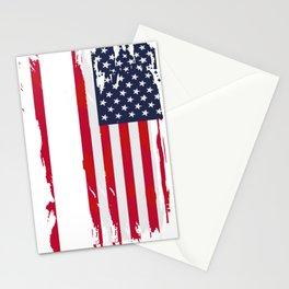 Anti Trump, Impeach The 45th President print Stationery Cards