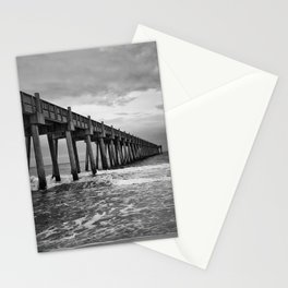 Stormy Sunrise over Pensacola Beach Stationery Cards