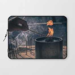 Candle Laptop Sleeve