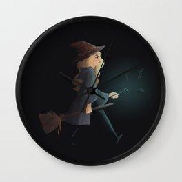 witchy emma Wall Clock