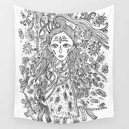 Young Shiva Wall Tapestry