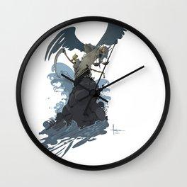 GRIM SURF Wall Clock