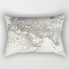 Map of Ancient World - Anville - 1794 Rectangular Pillow