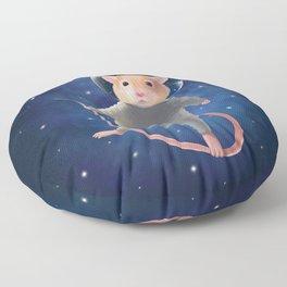 Mouse Astronaut Floor Pillow