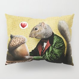 Mr. Squirrel Loves His Acorn! Pillow Sham