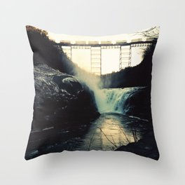 trestle dusk Throw Pillow