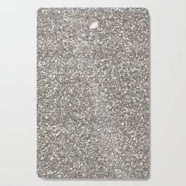 Silver Glitter I Cutting Board