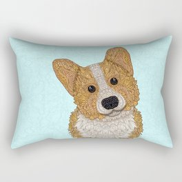 Cute Corgi Rectangular Pillow
