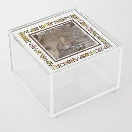 Fan The Sparks Acrylic Box