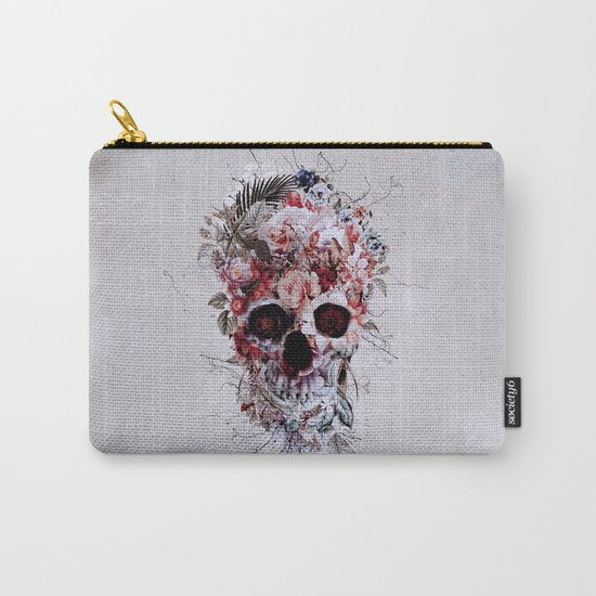 Floral Skull RPE Carry-All Pouch