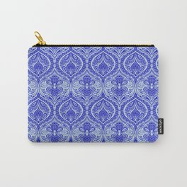 Simple Ogee Blue Carry-All Pouch