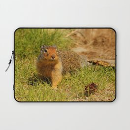 Twitchy Nosed Columbian Ground Squirrel Laptop Sleeve