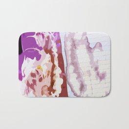 Pink Bleach Bath Mat