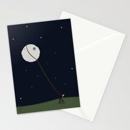 I may not be able to give you The Moon... Stationery Cards