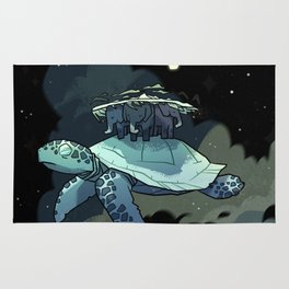 World Turtle Rug