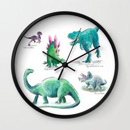 Dino Days Wall Clock