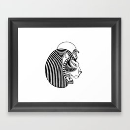 Tefnut Egyptian Goddess Framed Art Print