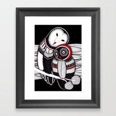 owLove Framed Art Print