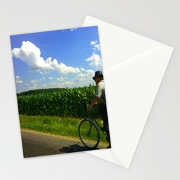 Get home before dinner Stationery Cards