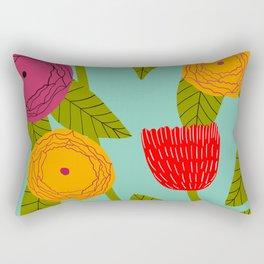 Sunny day bright floral Rectangular Pillow