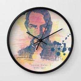 RIP Steve Jobs (1955-2011) Wall Clock