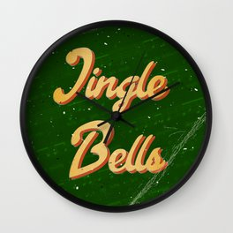 Jingle Bells #2 - A Hell Songbook Edition Wall Clock