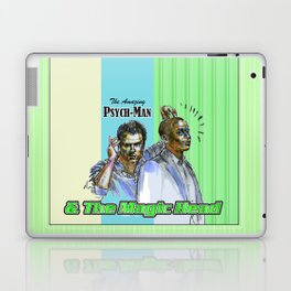 The Amazing Psych-Man & The Magic-Head - Psych quotes Laptop & iPad Skin