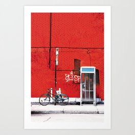 Mile-End Art Print