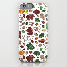 Forest floor tile pattern Slim Case iPhone 6s
