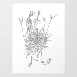 Mossy Mind Art Print
