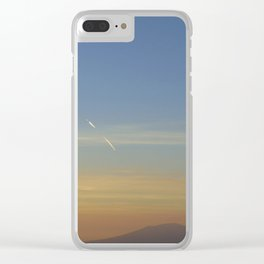 Sunset, Amalphi coast, Italy Clear iPhone Case