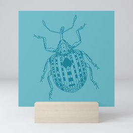 Snout beetle Mini Art Print