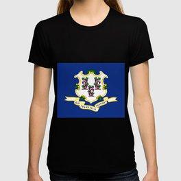 Flag Of Connecticut T-shirt