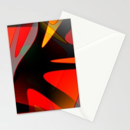 Abstract Reach Stationery Cards