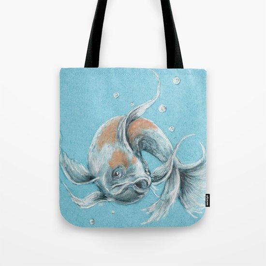 Koi fish tote bag by daydreamer society6 for Koi fish purse
