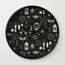 Light the Way: Glow Wall Clock