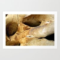 stone Art Prints featuring Stone by Vivian Fortunato