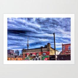 Sky at Kensington I Art Print