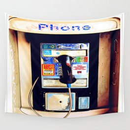Payphone Wall Tapestry