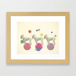 Oodles of Poodles Framed Art Print