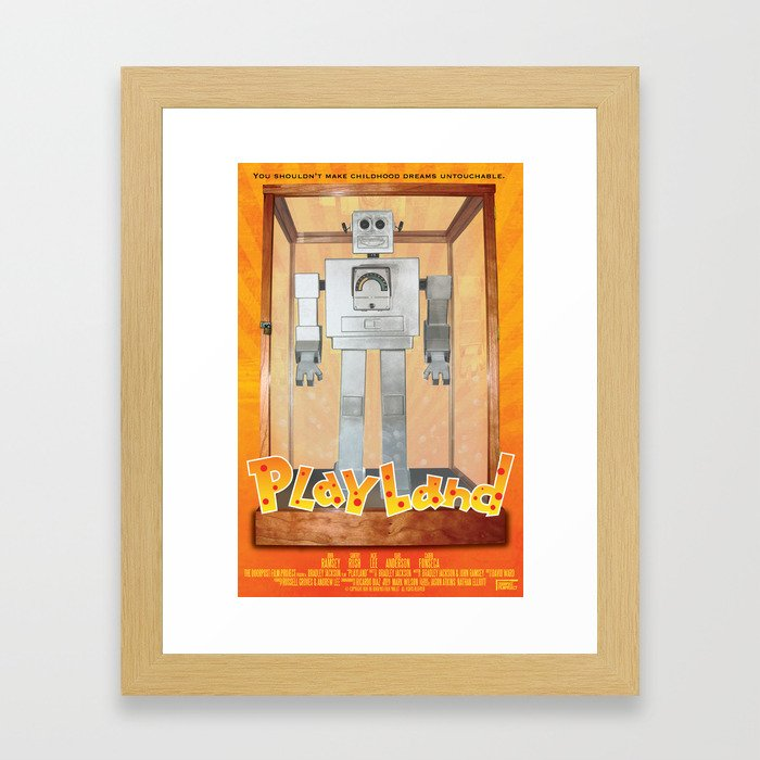 Playland Official Movie Poster Framed Art Print