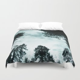 Redwood Forest Adventure - Nature Photography Duvet Cover