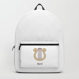 Cute Dungeons and Dragons Bard class Backpack