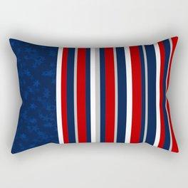 Stars and Stripes Rectangular Pillow