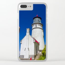 Aspirations - Heceta Head Lighthouse Clear iPhone Case