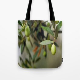 Olives On A Branch Tote Bag
